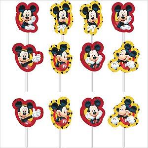 Palitos Decorativos Impresso EVA - Mickey - 01unidade - Piffer - Rizzo Embalagens