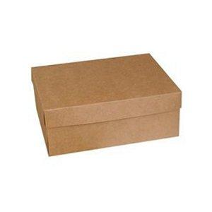 Caixa para Bolo K54 Kraft 29x22x11cm - Rizzo