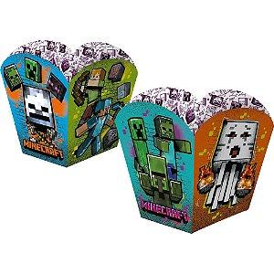 Cachepot Festa Minecraft - 04 unidades - Regina - Rizzo Embalagens