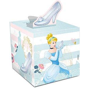 Caixa Surpresa - Festa Cinderela - 08 unidades - Regina - Rizzo Embalagens