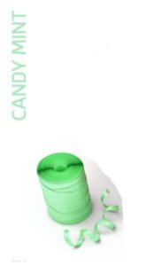Rolo Fitilho Candy Verde - 5mm x 50m - EmFesta