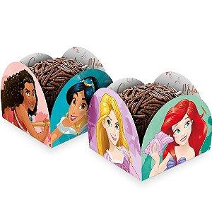 Porta Forminha - Festa Princesas Disney - 50 unidades - Regina - Rizzo Embalagens