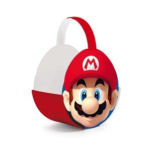 Cachepot com Alça - Festa Super Mario - 4 unidades - Cromus – Rizzo