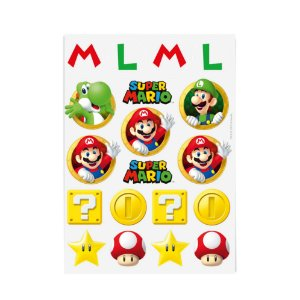 Transfer de Superfície para Personalizar Festa Super Mario - 2 unidades - Cromus - Rizzo