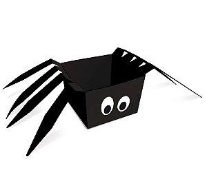 Cachepot Halloween - Aranha - 08 unidades - Cromus - Rizzo Embalagens