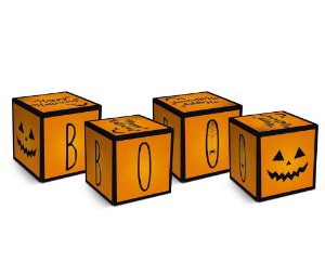 Caixa Cubo - Halloween - 08 unidades - Cromus - Rizzo Embalagens