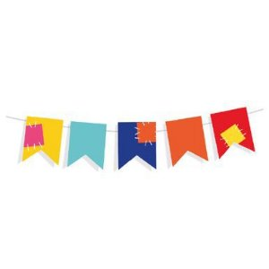 Mini Varal de Bandeirinhas Festa Junina - Cromus - Rizzo