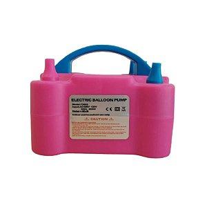 Inflador de Balões Electric Balloon Pump - Rosa - 01unidade - Rizzo Embalagens