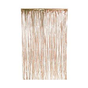 Cortina Decorativa Fosca Dourado L1 x A2 m- 01unidade - Artlille - Rizzo Embalagens
