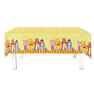 Toalha de Mesa em TNT Festa Pooh (2,00m x 1,40m) 01 unidade - Festcolor - Rizzo Embalagens