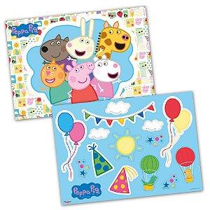 Kit Decorativo Peppa Pig Clássica - 01 unidades - Regina - Rizzo Embalagens