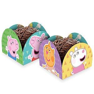 Porta Forminha - Peppa Pig Clássica - 50 unidades - Regina - Rizzo Embalagens