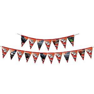 Faixa Decorativa Festa Velozes e Furiosos - 1 Unidades - Festcolor - Rizzo Embalagens