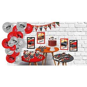Kit Decorativo Só um Bolinho Festa Velozes e Furiosos - 90 Unidades - Festcolor - Rizzo Embalagens