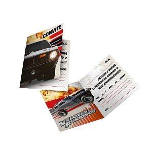 Convite Festa Velozes e Furiosos - 8 Unidades - Festcolor - Rizzo Embalagens