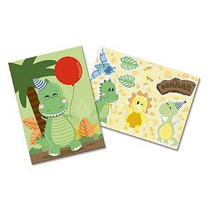 Kit Decorativo Festa Dino Baby - 1 Unidades - Festcolor - Rizzo Embalagens