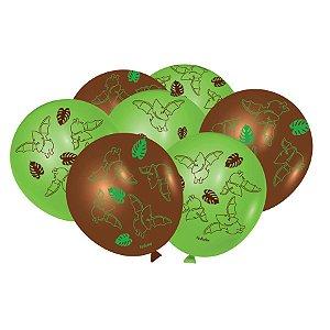 Balão Especial Festa Dino Baby - 25 Unidades - Festcolor - Rizzo