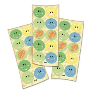 Adesivo Festa Dino Baby- 30 Unidades - Festcolor - Rizzo Embalagens