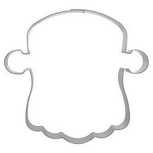 Cortador Face Abóbora Monstro 1G Halloween Ref. 482 RR Cortadores Rizzo Confeitaria