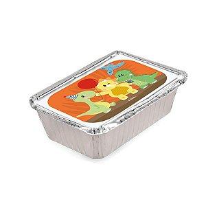 Mini Marmitinha Festa Dino Baby- 10 unidades - Rizzo Embalagens