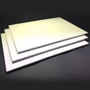 Placa Flexivel Pluma 5mm - 65cmx50cm Branca - LA PLUMA - Rizzo Embalagens