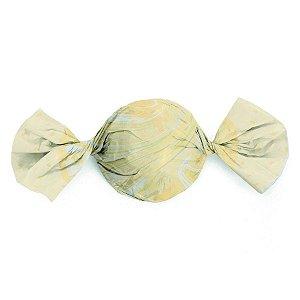 Folha Trufa Marmore Marfim 14,5x15,5 - 100 unidades - Cromus - Rizzo