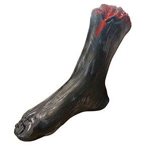 Enfeite Pé de Zumbi Plástico Escuro Halloween - 1 Unidade - Rizzo Embalagens