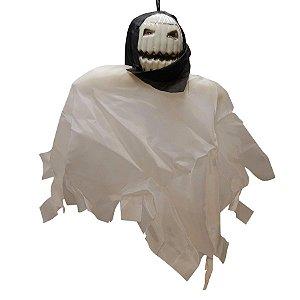 Boneco em Tecido para Pendurar Halloween - Fantasma - 1 Unidade - Rizzo Embalagens