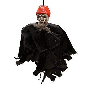 Boneco em Tecido para Pendurar Halloween - Pirata - 1 Unidade - Rizzo Embalagens