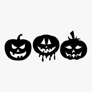 Transfer Halloween - ABOBÓRAS  - 01 Unidade - Rizzo Embalagens