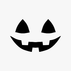 Transfer Halloween - Silhueta Abobóra  - 01 Unidade - Rizzo Embalagens