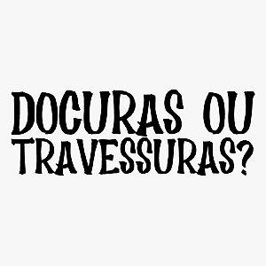 Transfer Halloween - DOÇURAS OU TRAVESSURAS  - 01 Unidade - Rizzo Embalagens