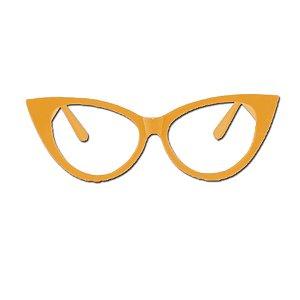 Óculos Festa Gatinho Luxo Sortido - 10 Unidades- Rizzo