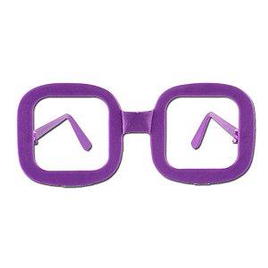 Óculos Festa Quadrado Sortido - 10 Unidades- Rizzo