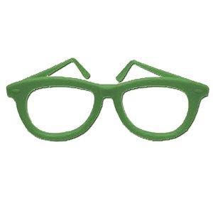 Óculos Festa Nerd Sortido - 10 Unidades- Rizzo