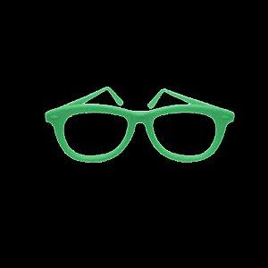 Óculos Festa Nerd Brilha no Escuro - 10 Unidades- Rizzo