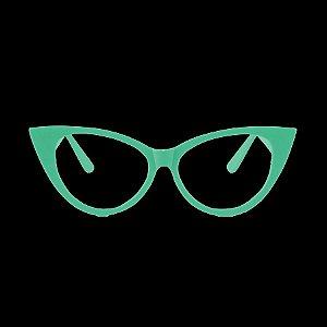 Óculos Festa Gatinho Luxo Brilha no Escuro - 10 Unidades- Rizzo