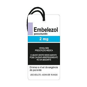 """Decor Home Tag """"Embelezol: Parecebunitin"""" - DHT2-114 - LitoArte - Rizzo"""