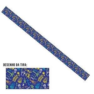 Tira Grossa Festa Junina Azul - 5 Uni - Rizzo