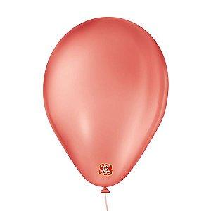 """Balão de Festa 6,5"""" Basic - Vermelho - 50 Unidades - Balões São Roque - Rizzo"""