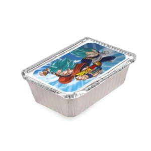 Mini Marmitinha Festa Dragon Ball Super 80ml - 10 unidades - Rizzo Embalagens