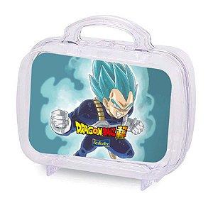 Maleta Acrílica para Lembrancinha Festa Dragon Ball Super 6 unidades - Rizzo Embalagens