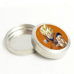 Latinha Metálica Lembrancinha Festa Dragon Ball Super 20 unidades - Rizzo Embalagens