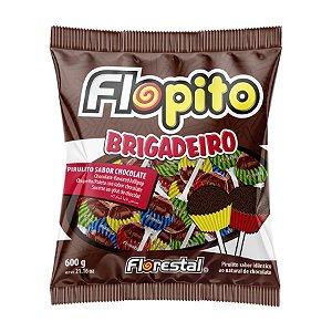 Pirulito Flopito Brigadeiro - 01 Unidade - Florestal - Rizzo Embalagens