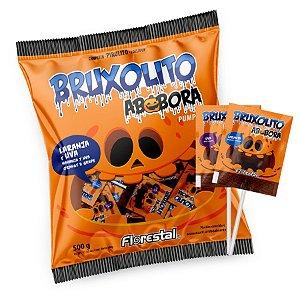 Pirulito Bruxolito Abóbora - 01 Unidade - Florestal - Rizzo Embalagens