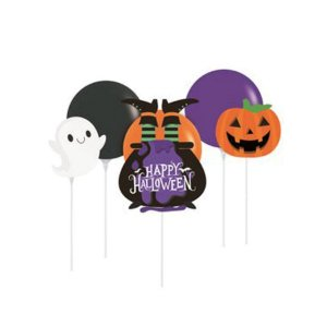 Kit Balão Topo de Bolo  Halloween - 1 Unidades - Cromus - Rizzo Embalagens