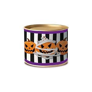 Lata Para Lembrancinha 11x9cm Noite do Terror Halloween 1 Unidades - Cromus - Rizzo Embalagens