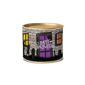 Lata Para Lembrancinha 11x9cm Happy Halloween 1 Unidades - Cromus - Rizzo Embalagens
