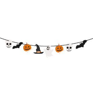 Faixa Decorativa Boo Halloween 1 Unidades - Cromus - Rizzo Embalagens