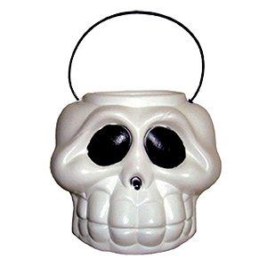 Balde Cabeça de Esqueleto - 1 Unidade - Brasilflex - Rizzo